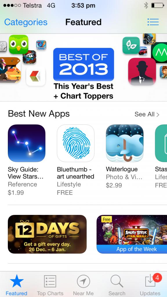 bluethumb featured app