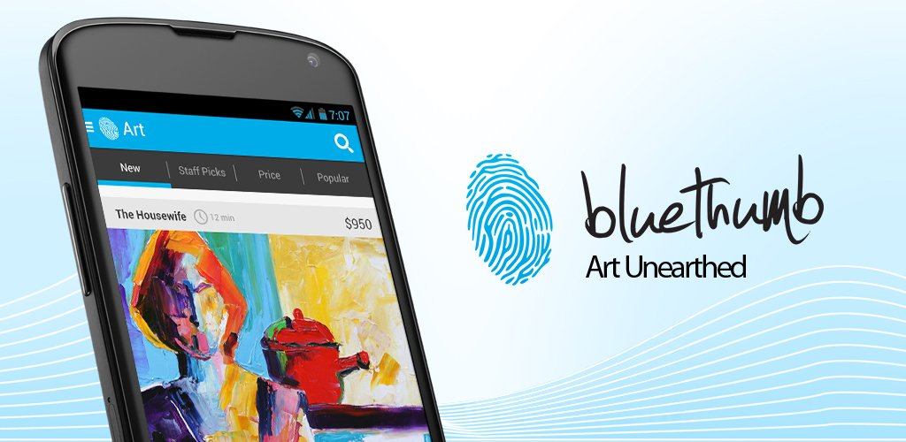 Bluethumb app for Android phones