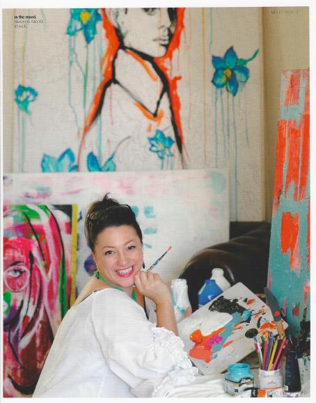 Alexandra Palombi in ArtEdit magazine