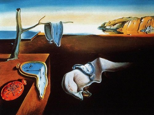 Salvador Dali's 'The Persistence of Memory'