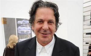 Charles Saatchi at Londons, Frieze Art Fair,