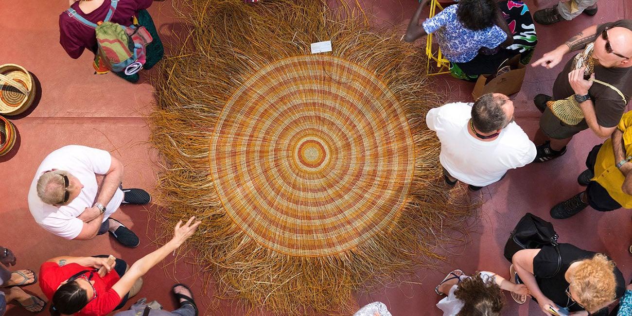 indigenous art fair