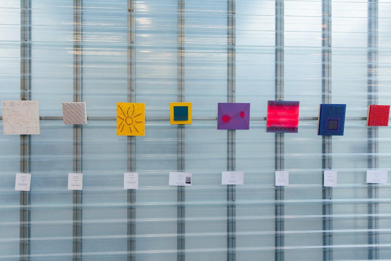popup exhibition art