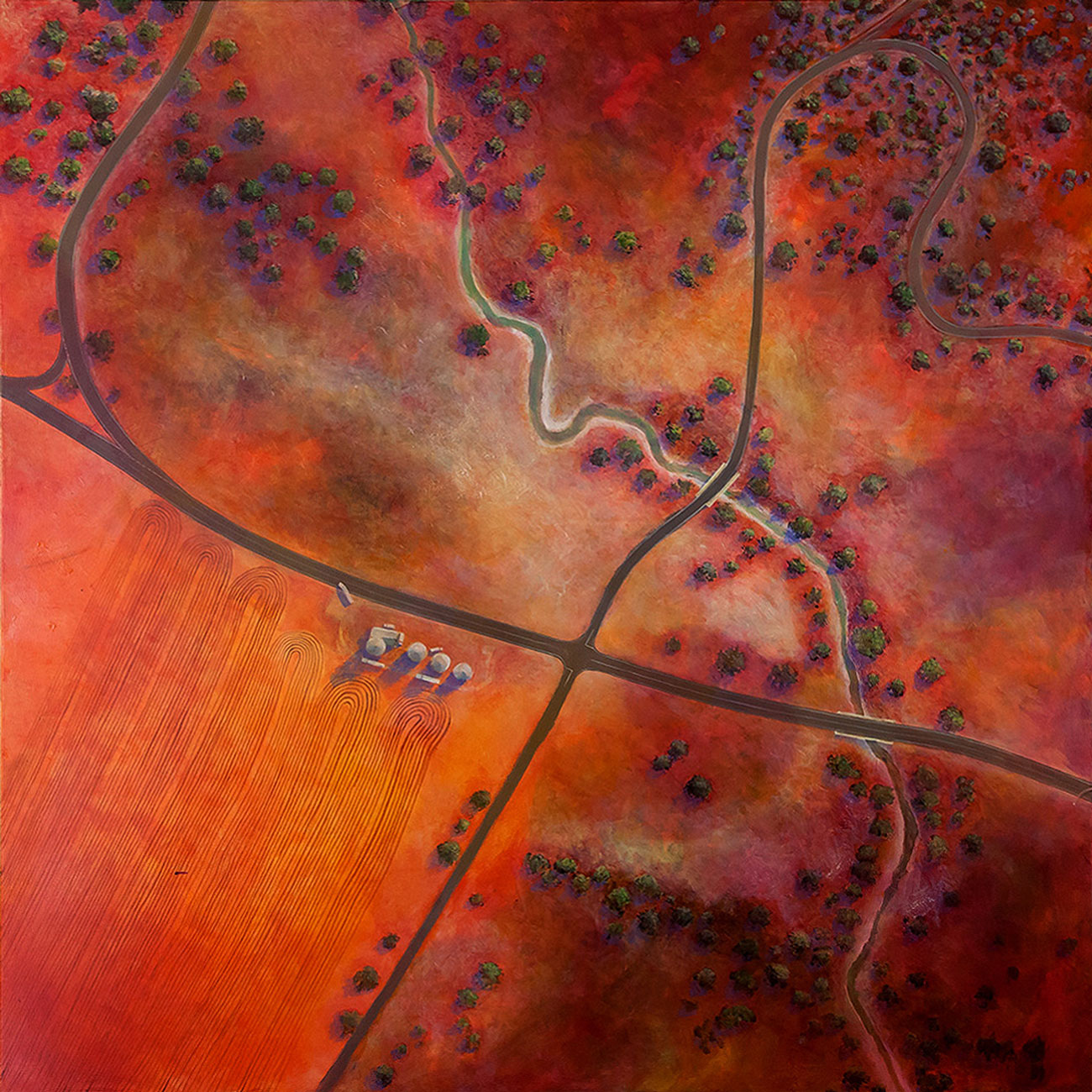 Red Earth Farming by Pete Martin