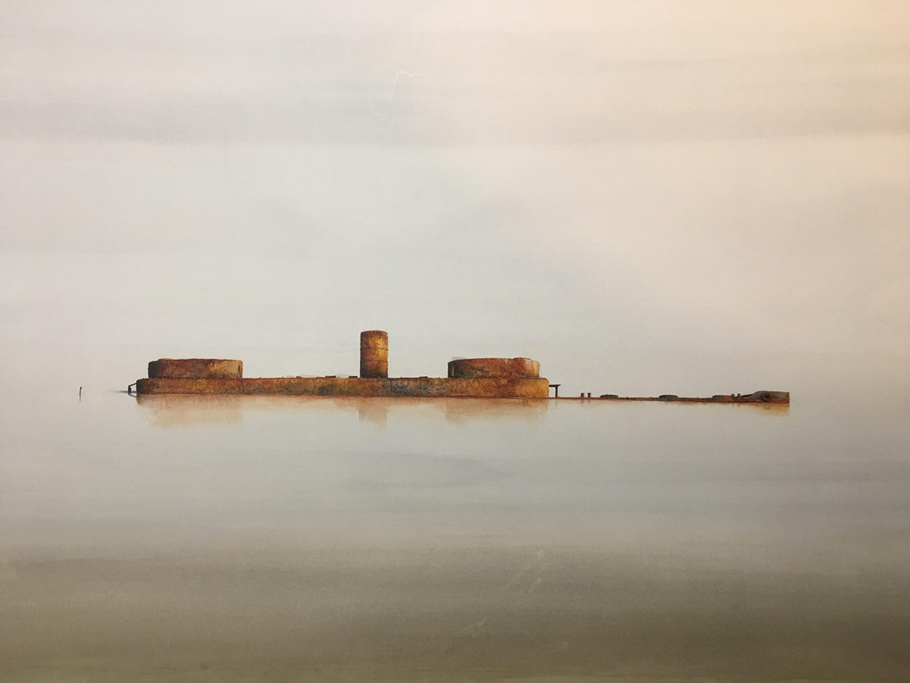 Runner Up in the Mission To Seafarer's Maritime Art Prize