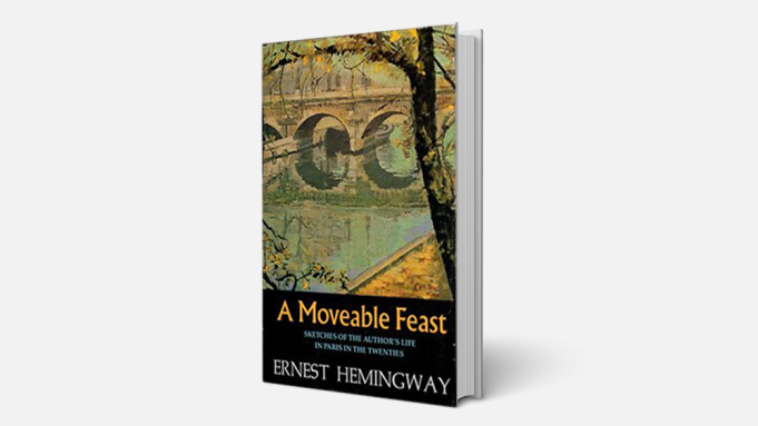 A Moveable Feast by Ernest Hemingway. 11 of the Bluethumb Team's Winters Reads 2021