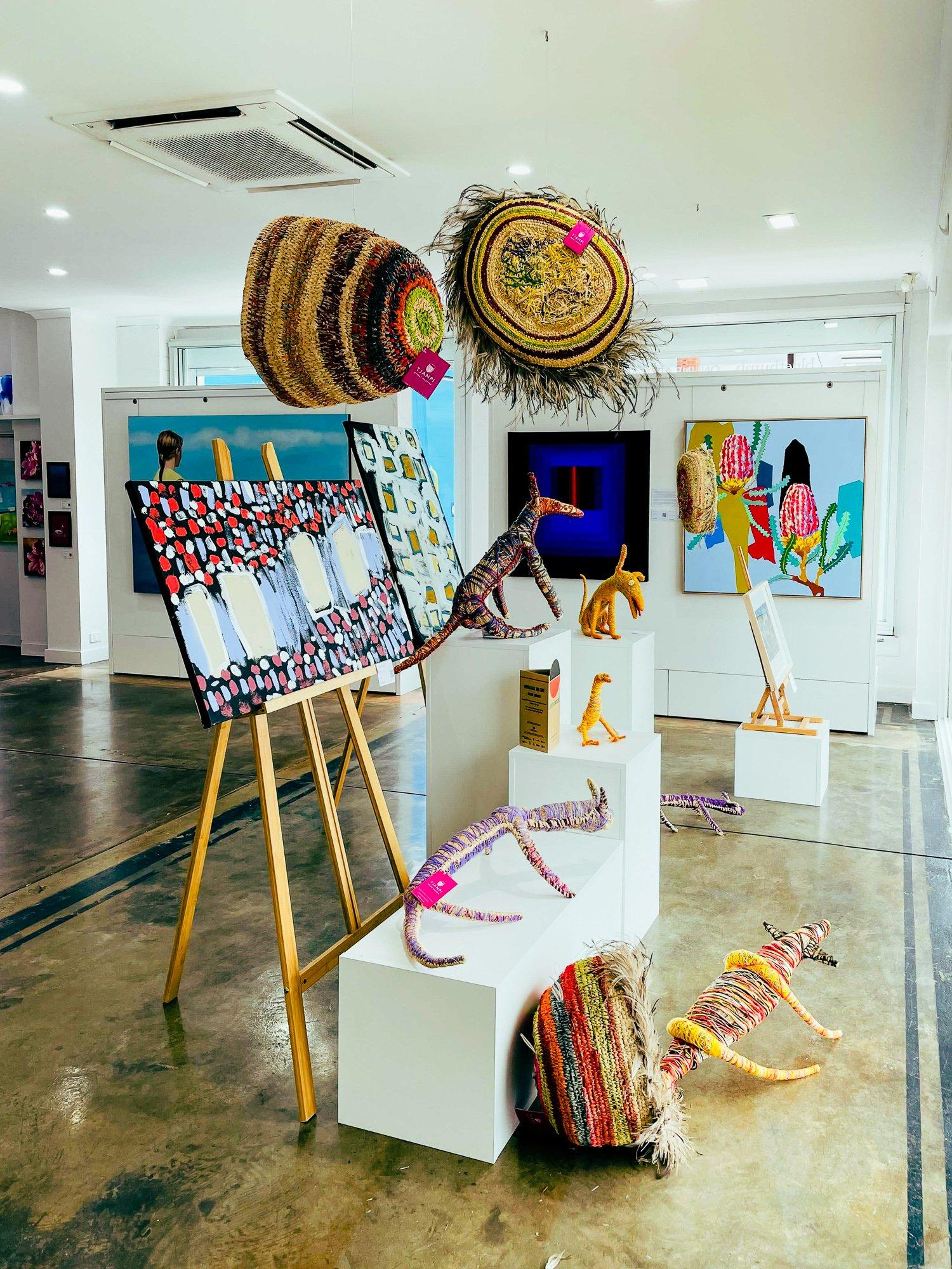 NAIDOC Week in the Bluethumb Adelaide gallery