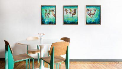Art in a room