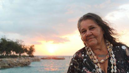 June Mills, Larrakia, Artist, Bluethumb Art Prize