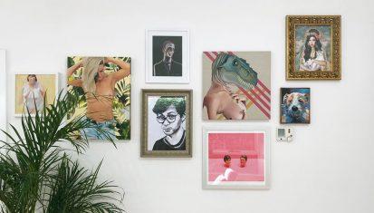 Bluethumb's Mission is getting art on walls