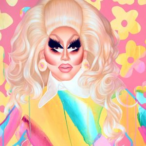 Trixie Mattel by Kim Leutwyler, finalist in the 2019 Portia Geach Memorial Award
