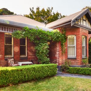 Red brick Federation era home of art collector Sally Browne