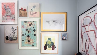 Sally Browne's art collection